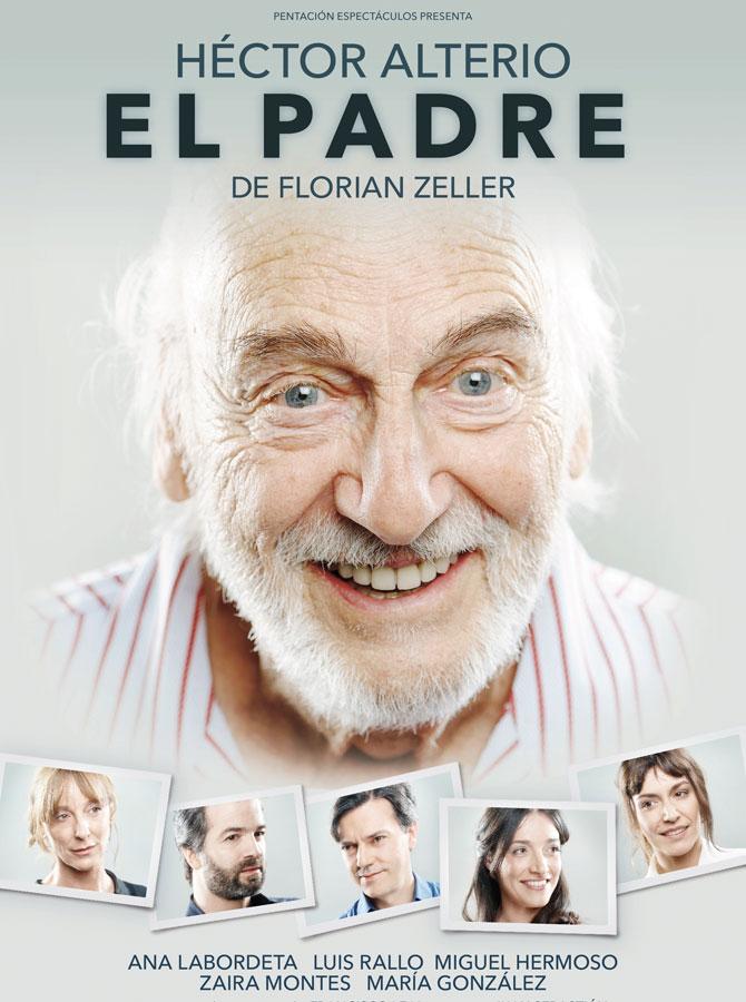 """Cartel de la obra de teatro """"El Padre"""""""