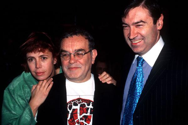 La pareja con Fernando Arrabal