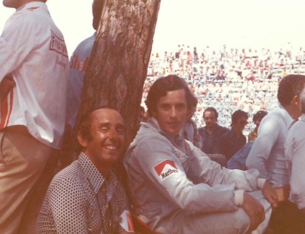 Gran Premio de monca 1973. Jackie Ickx con Jack Heuer