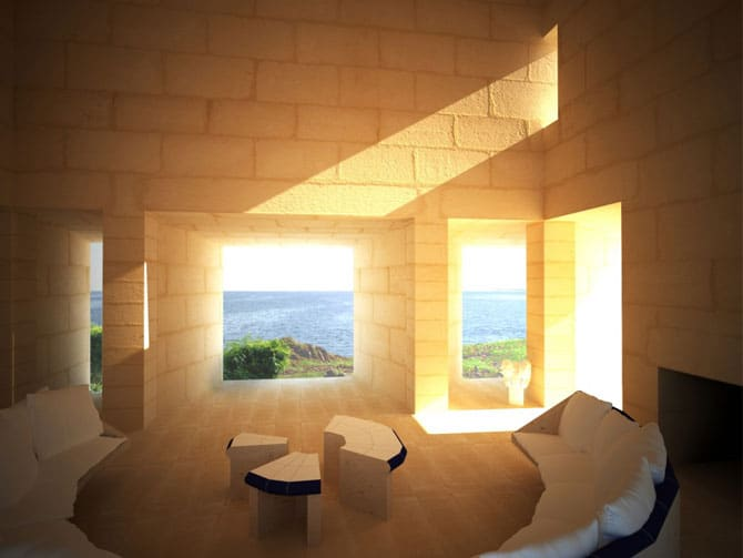 Interior casa can lis Jorn Utzon