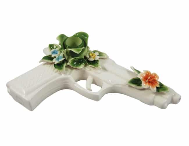 Pistola de porcelana