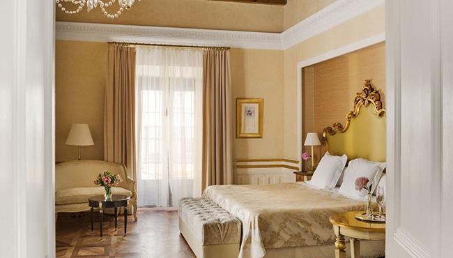 Habitación del Hotel Casa 1800 de Sevilla. Foto: Hotel Casa 1800