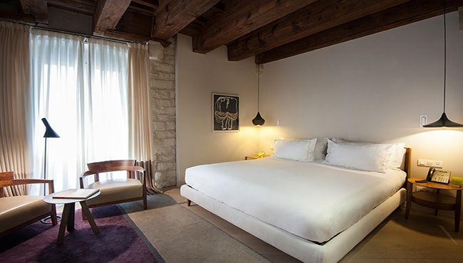 Habitación del Hotel Mercer en Barcelona. Foto: Hotel Mercer Barcelona