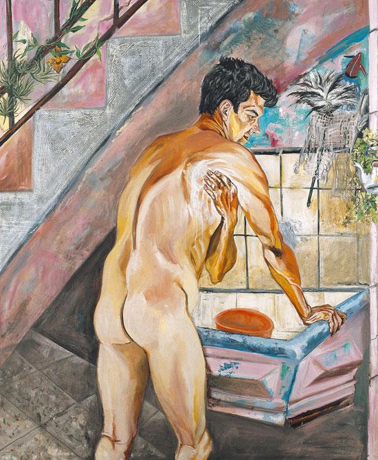 MARCIA SCHVARTZ, El baño del morocho, 1989