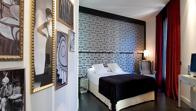Habitación Hotel Vincci Vía 66 en Madrid