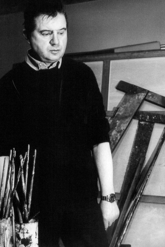 Francis Bacon. Fotografía de Margaret Skawinnski Sheaser.