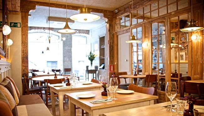 Interior del restaurante La Galleta
