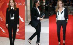 mujeres celebrities baby boomers con el estilo tomboy
