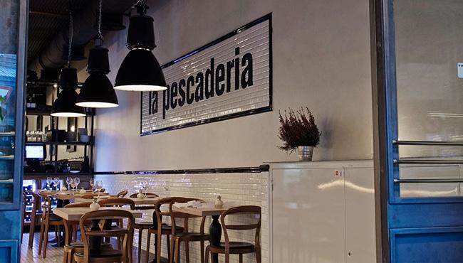 Interior del restaurante La Pescadería