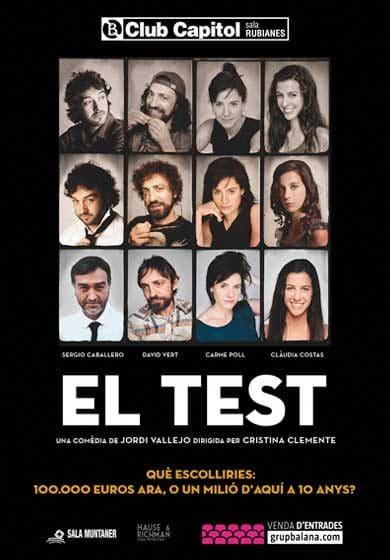 Teatro Barcelona El Test