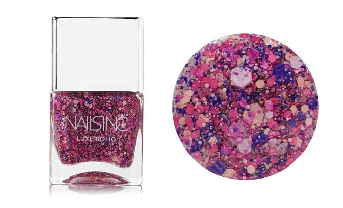 "Esmalte de uñas efecto ""glitter"" de NAILSINC color ""Nothing Hill Lane"" en net-a-porter (18€)"