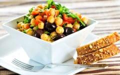 Receta fácil de ensalada de garbanzos. Foto:gtres