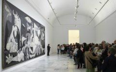 Vista sala Guernica