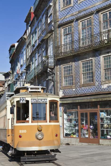 El tranvía de Oporto. Foto Gtres