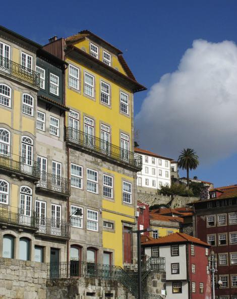 Edificios típicos de Oporto