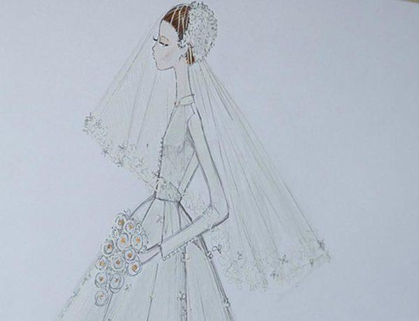Vestido novia Dior Miranda Kerr