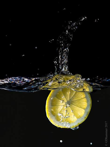 Limon con agua