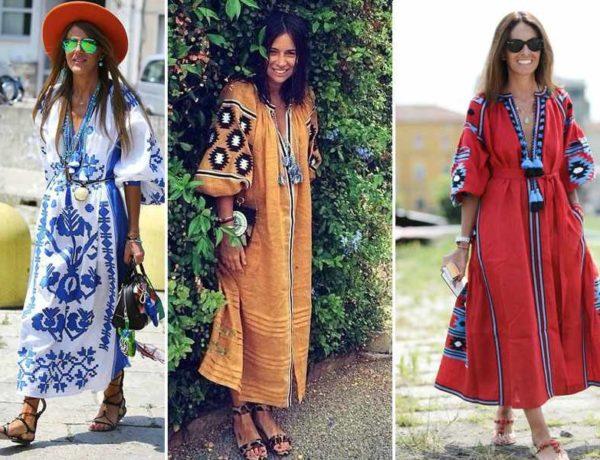 Vestidos bordados vitakin