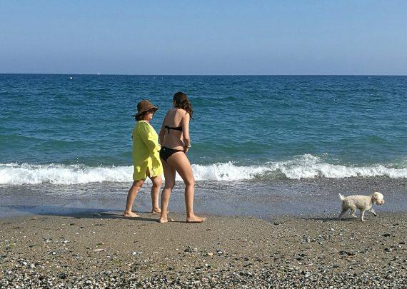 Caminar en la playa