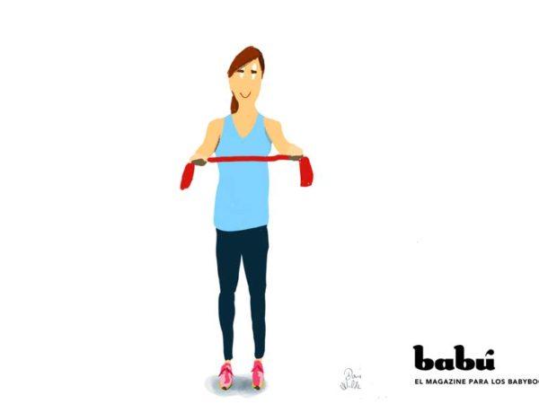 ejercicios hombros y espalda
