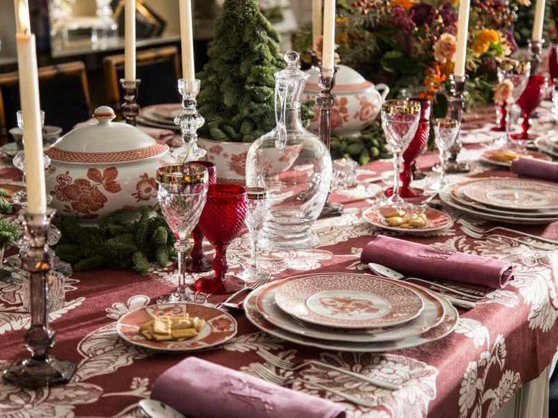 Ideas para decorar la mesa para navidad bab magazine - Como adornar la mesa en navidad ...