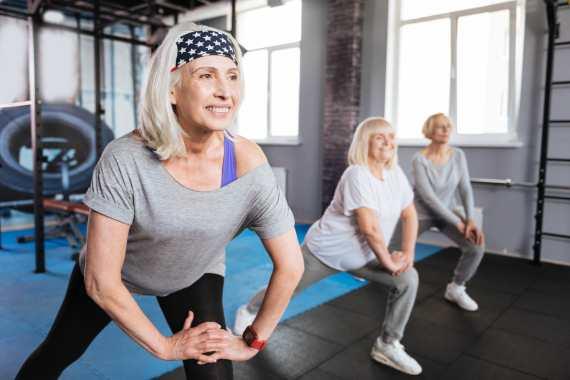 entrenar a los 50