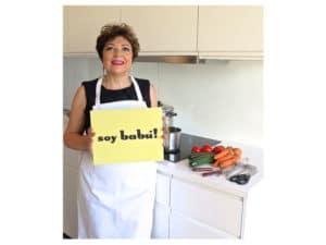 Maite Martín apasionada de la cocina y Babú.