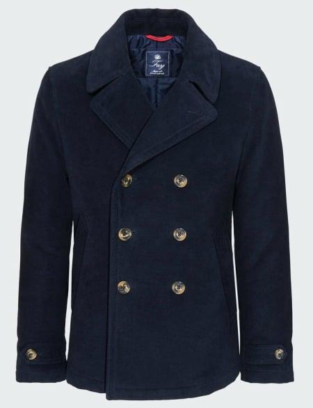 compra Una Babú abrigo Magazine Pea marinero buena el Coat zqgq1w