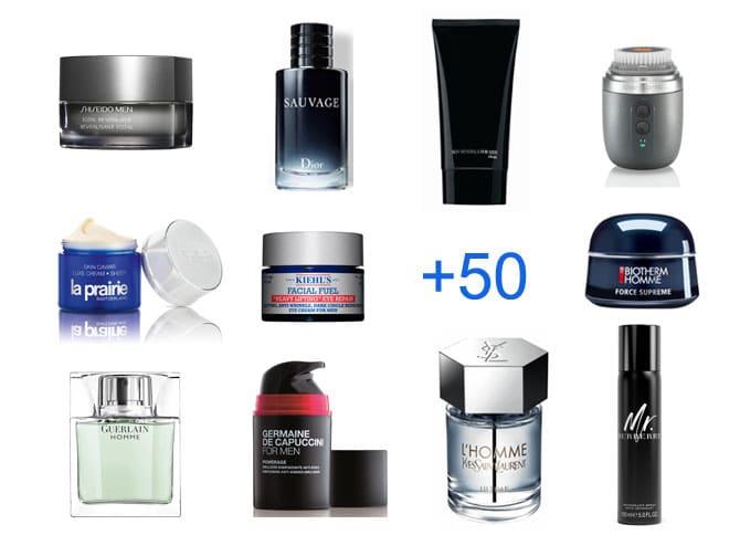 La cosmética también es cosa de hombres, a partir de los 50 hay que practicarla.