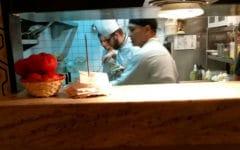 El chef italiano del Ornella