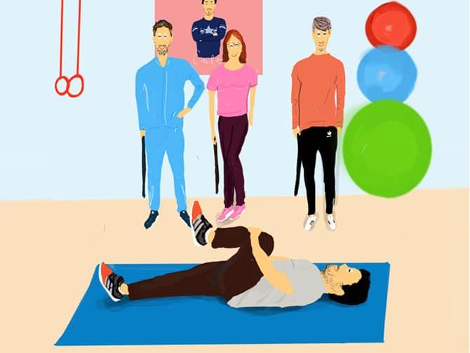 ejercicios espalda sana