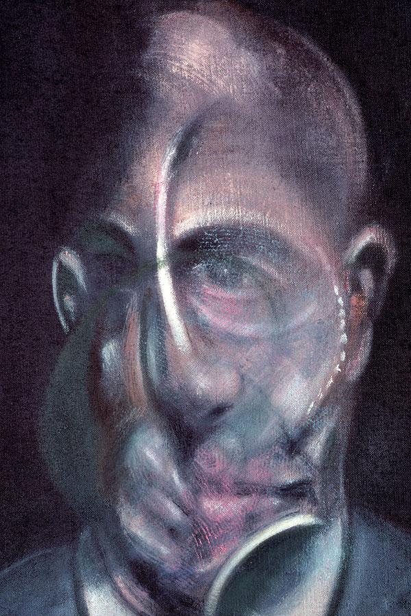 Francis Bacon portrait of Michel Leiris Museo Guggenheim Bilbao