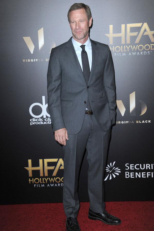 """El actor Aaron Eckhart actúa también en la película """"Sally"""""""