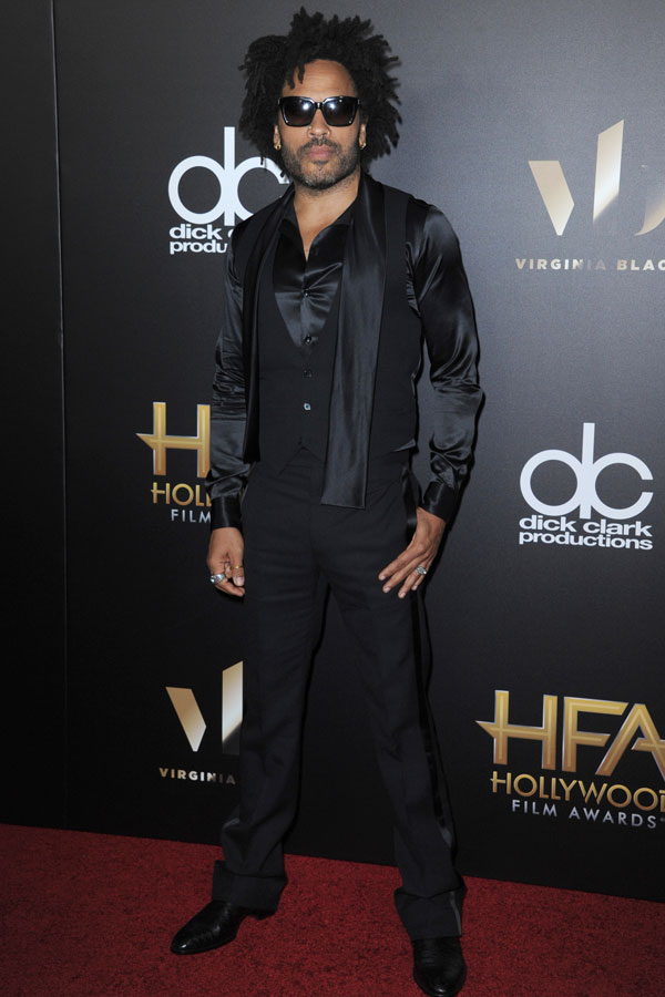 Lenny Kravitz un Babú siempre muy sexy