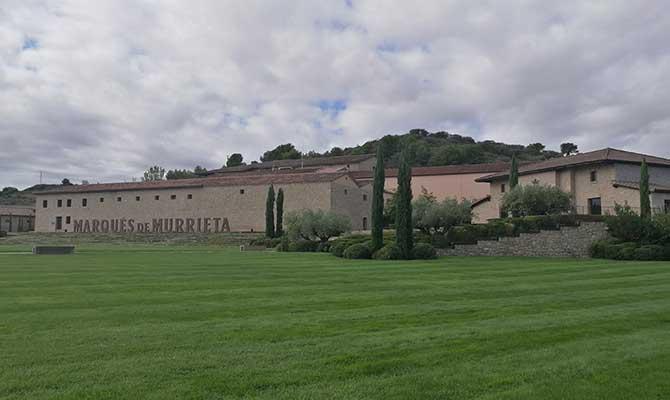 bodegas Marques de Murrieta en Logroño