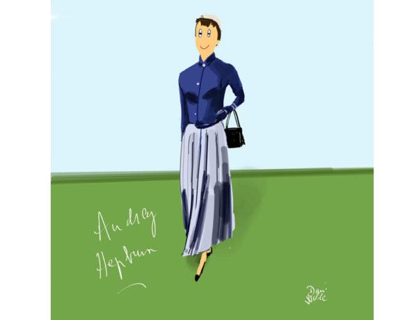 faldas años 50