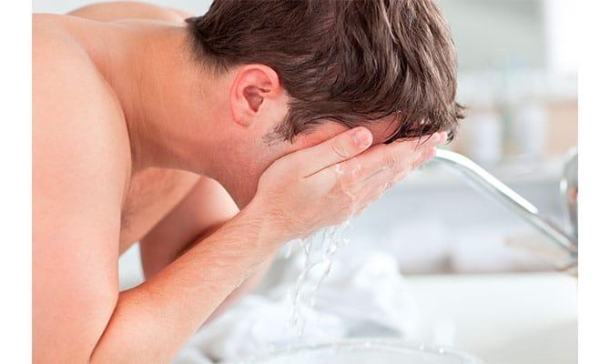 limpieza facial masculina