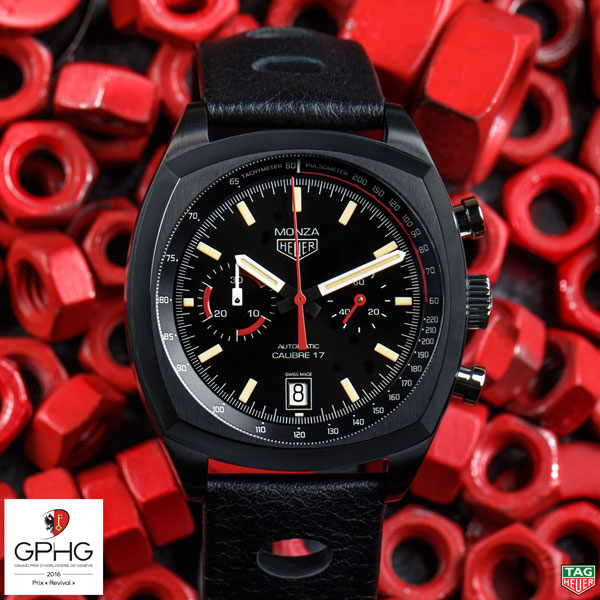 Nuevo reloj TagHeuer Monza GPHG