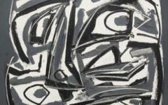 "Saura ""Retrato 122 "", 1961 Óleo sobre lienzo. Galeria Jordi Pascual"