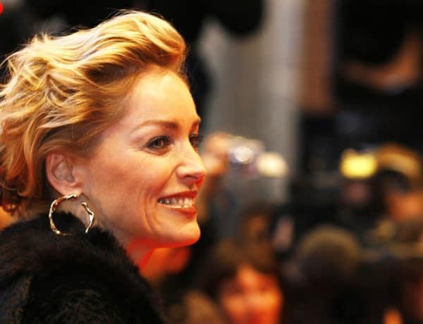 A Sharon Stone, una babú fantástica, le favorecen mucho los pendientes grandes. Foto:gtresonline