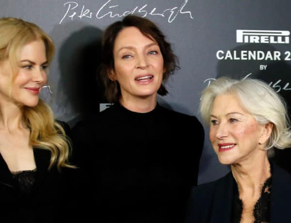 Nicole Kidman, Uma Thurman and Helen Mirren
