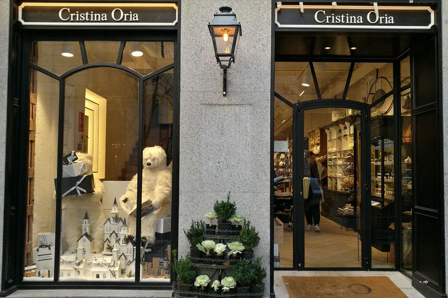 Fachada restaurante Cristina Oriola