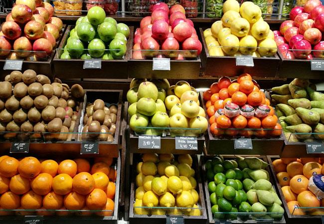 Cuidado con no pasarse con la fruta que lleva mucha azúcar