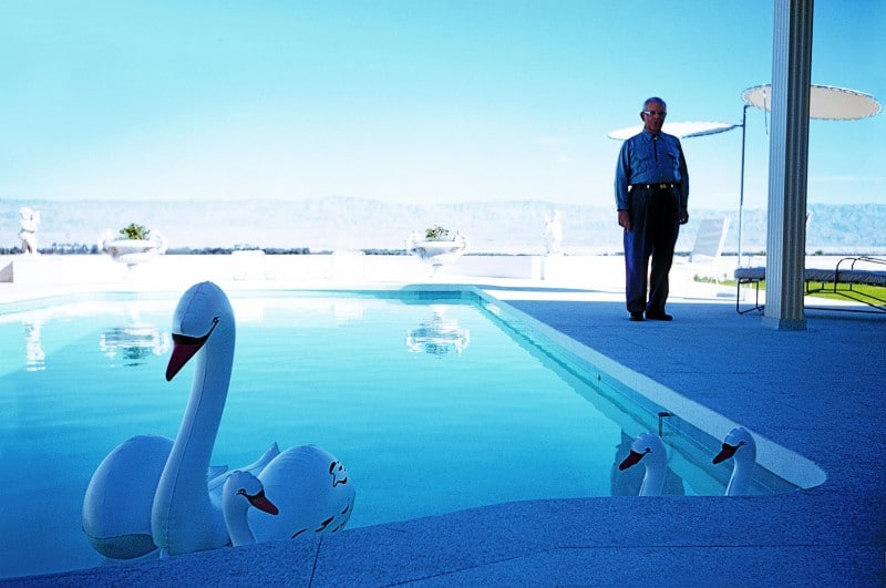 Los cisnes inflables,1960 © Atelier Robert Doisneau, 2016