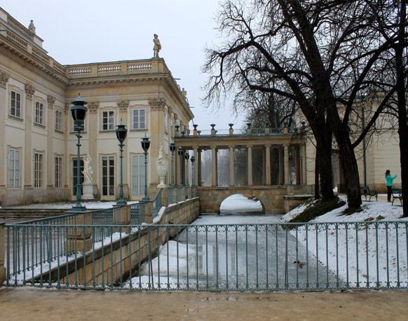Palacio de la Isla en el Parque Łazienki