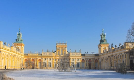 Palacio Wilanów, Varsovia