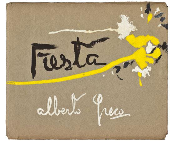 Alberto Greco, Fiesta, compilado de 32 carillas de