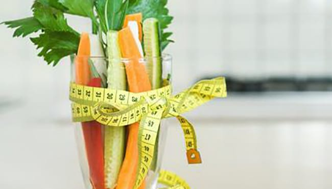 dieta hipocalórica.
