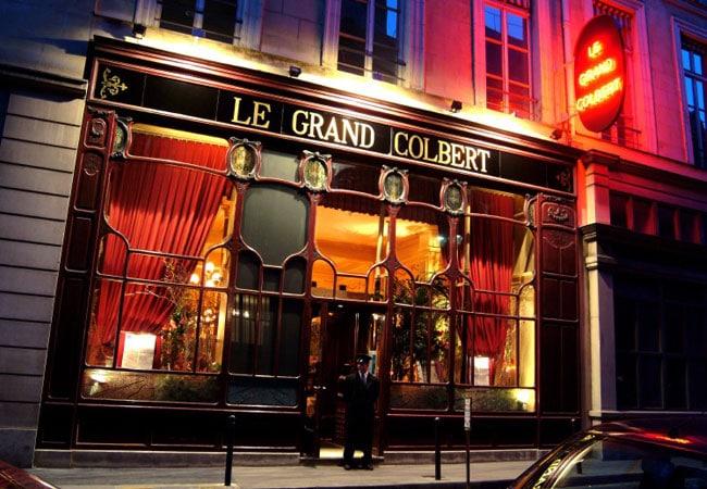 el restaurante Le Grand Colbert