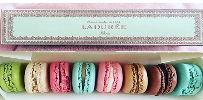 Macarons de la pastelería La Durée. Foto: @laduree_macarons